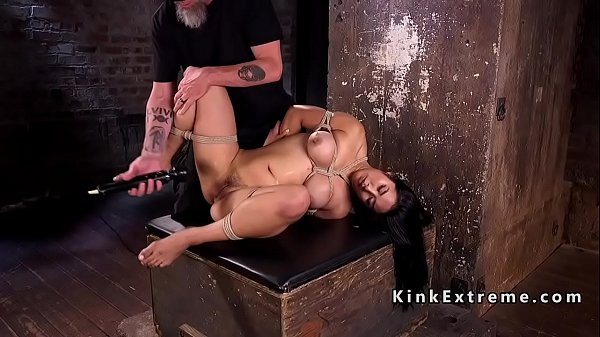 Vibrator, Tied up, Asian slave, Tie up, Asian tied