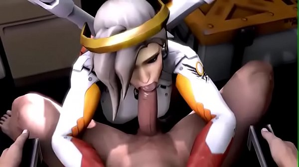 Overwatch, Monster, Big ass fuck, Monster big, Big monster, Girl ass