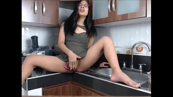 Asian tranny, In kitchen, Tranny cock, In the kitchen, Asian kitchen