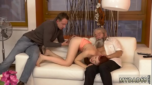 Unexpected, Old cock, Old with young, Gentleman