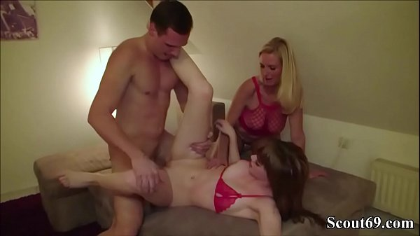 German, Seduce, Young daughter, Mother and daughter, Young mother, Mother fuck