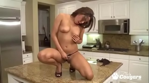 Kitchen, Big clit, Housewife, Steele, Big clits, Steel
