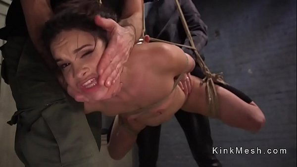Rope, Anal slave, Roped, Fuck anal, Suspension, Slave anal