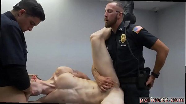 Naked, Police fuck, Two men, Gay police