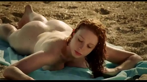 Beaches, Beach ass, Laying, Lay, Big ass redhead, Ass beach