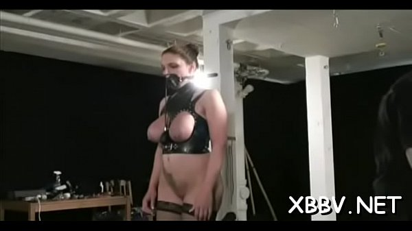 Rope, Tied up, Stand up, Roped, Standing up, Tied boobs