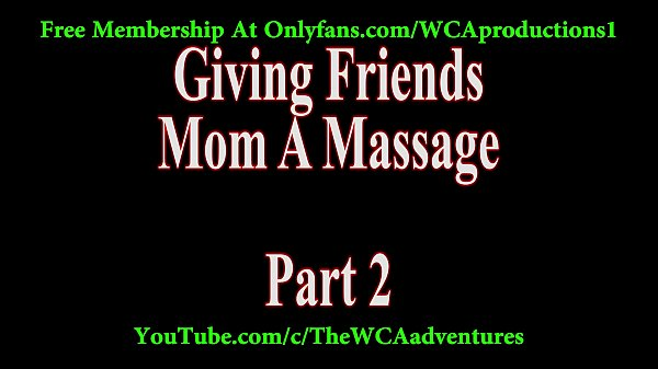 Mom massage, Friend mom, Massage mom, Friends, My friend mom, My friends mom