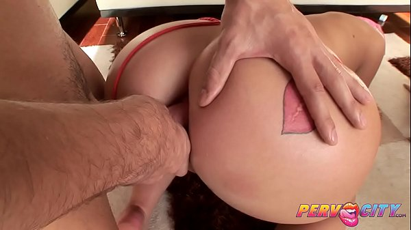 Threesome, Big ass anal, Ass to mouth, Anal threesome, Pervcity, Anal big ass