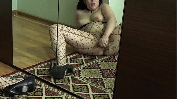 Suit, Mirror, Hairy masturbation, Cute pussy, Masturbation hairy, In front of mirror