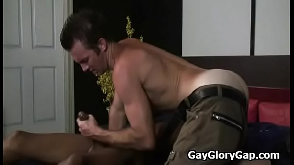 Interracial, Gays, Gloryhole gay