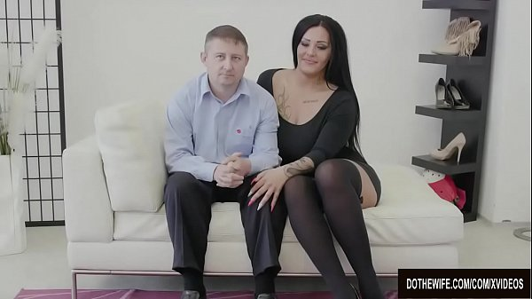 Swinger, Swingers, In front of husband, Ashley, Front, In front husband