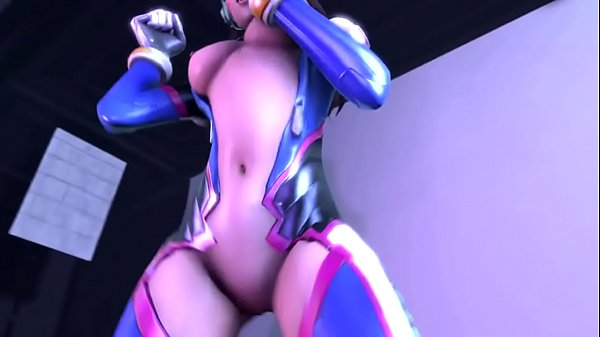 Cartoon, Overwatch, Cartoons, D va, Dances