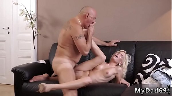 Old and young, Young daughter, Old daddy, Young and old, Young creampie, Daddy and daughter