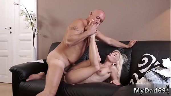 Old and young, Young daughter, Old daddy, Young and old, Young creampie, Old creampie