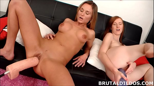 Gape, Brutal dildo, Brutally, Gaping holes