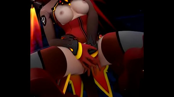 Overwatch, Climax, Mercy, Pussy rubbing, Fixed, Climaxs