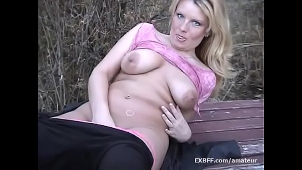 Public outdoor, Public nudity, Nudity, Chubby blonde, Amateur chubby, Chubby outdoor