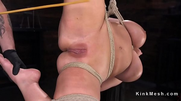 Caning, Hogtied, Caned, Huge naturals, Huge natural