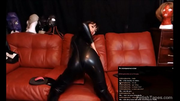 Private, Catsuit, Latex black