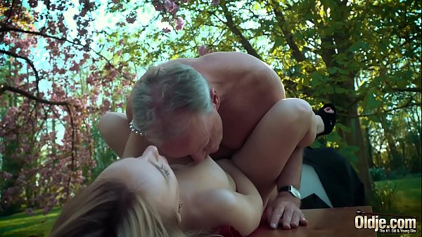 Moaning, Young old, Old man fuck, Young blonde, Old & young, Swallows