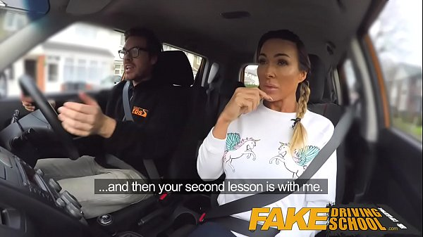 Fake tits, Squat, Fake driving, Drive, Fake driving school, Fake school