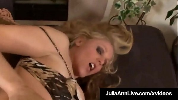 Julia ann, Hot milf, Titty fuck, Julia ann milf, Titties, Milf doggy