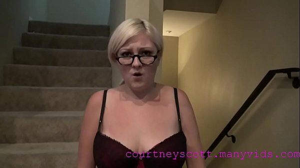 Blackmailed, Blackmailing, Scott, Courtney scott, My stepmom, Blackmail stepmom