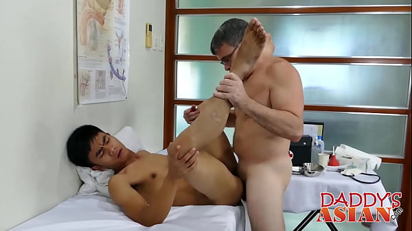 Doctor, Asian doctor, Young asian, Asian young, Doctor asian, Barebacked