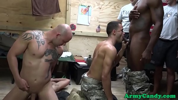 Orgy, Rip, Black orgy, Ripped, Tight ass, Soldiers