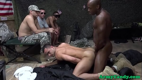 Orgy, Rip, Ripped, Tight ass, Black orgy, Soldiers