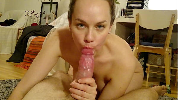 Homemade blowjob