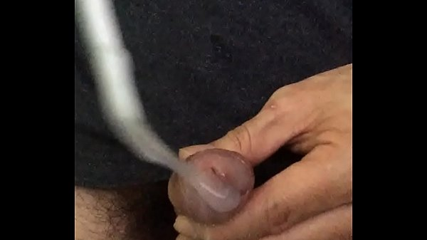 Urethra, Insertion, Lubed, Syringe, Lube