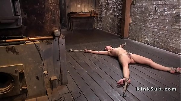 Tied up, Floor, Torment