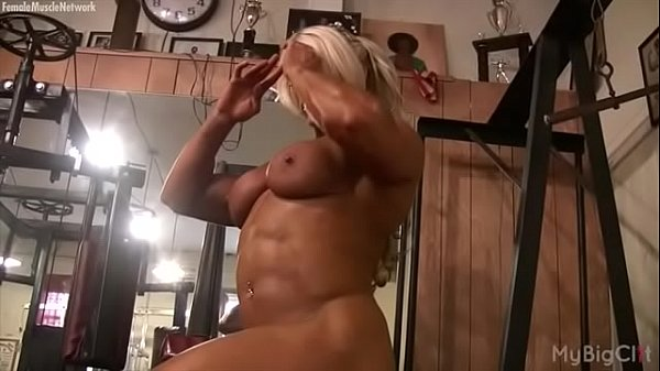 Bodybuilder, Bodybuilding, Female bodybuilder, In gym, Female masturbation, Bodybuild