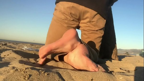 Beach, Male, Male feet