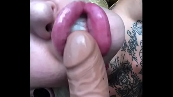Lips, Shemale dildo, Lip, Huge dildos, Huge shemale, Dildo suck
