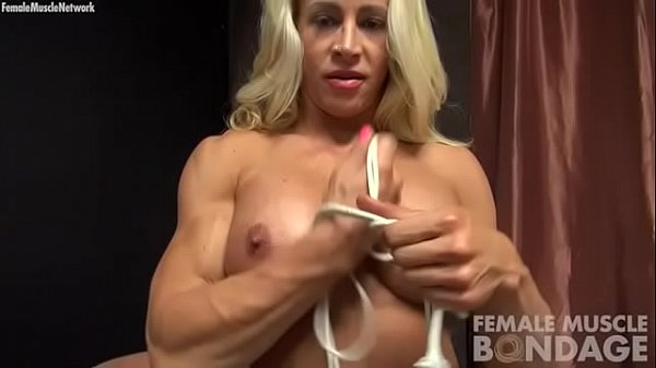 Rope, Female, Bodybuilder, Bodybuilding, Female bodybuilder, Bodybuild