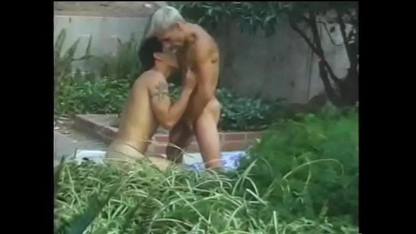 Dick, Garden, Two dicks, Gardener, Dick sucking, Two gay