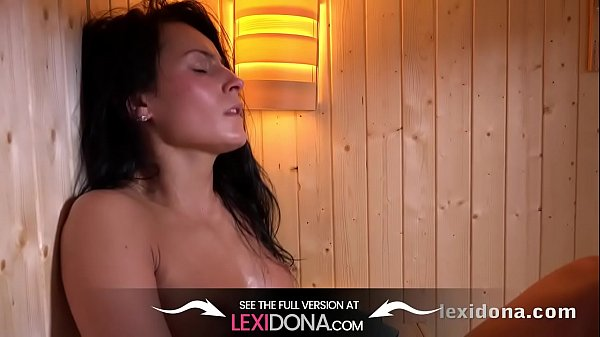 Sauna, Fit, Sweat, Watching masturbate, Sweating, Fitness body