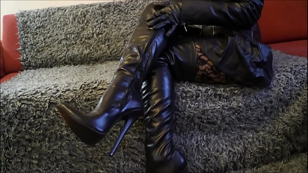 Boots, Mom pov, Boot, Pov mom, Thigh, Extreme mom