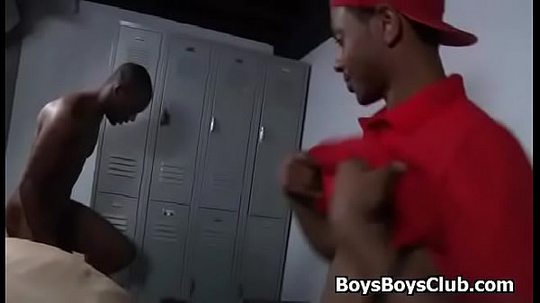 White, Locker, Locker room, Two man, Black men, Two black