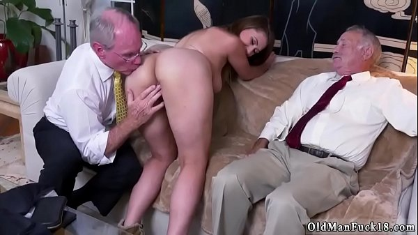 Grandpa, Old and young, Old grandpa, Young creampie, Old creampie, Grandpa creampie