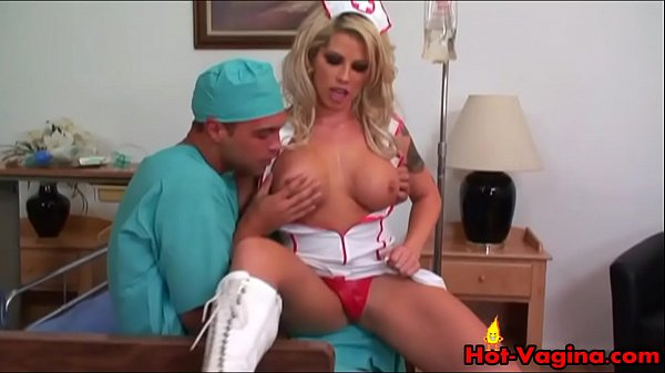 Nurse, Nursing, Cum load, Full of cum, Cum full, Blonde nurse