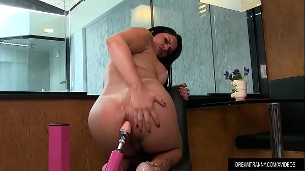 Shemale, Shemale dildo, Big ass dildo, Big ass shemale, Shemale big ass, Slide