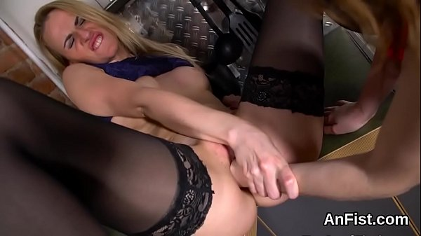 Fisting anal, Lesbo, Anal fisting anal t