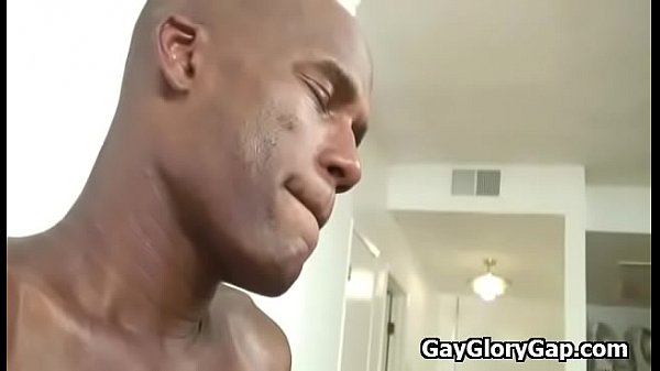 Interracial, Gloryhole gay