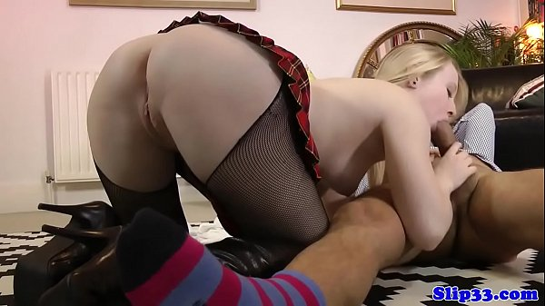 Schoolgirl, Classy, Cock old, Riding old man