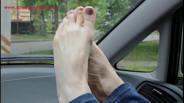 Pretty, Barely, Feet car, Bare feet